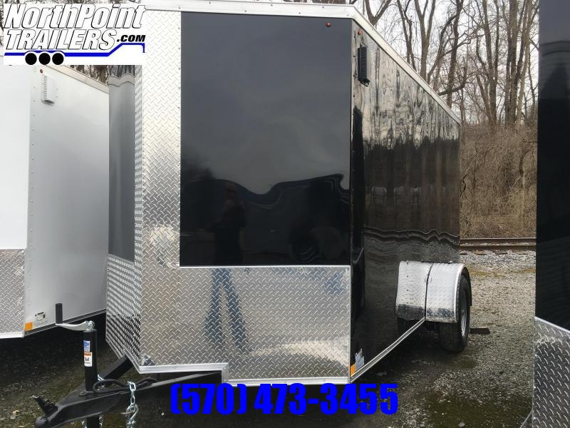2019 Triple Crown Trailers 6X12SA Enclosed Trailer - Black