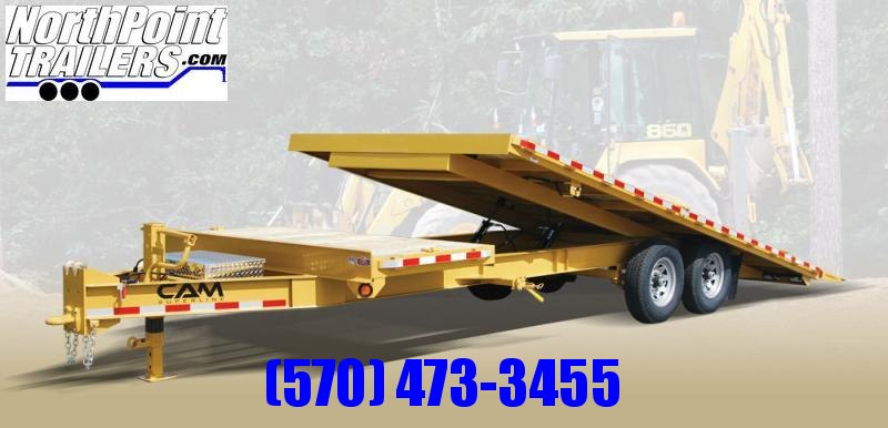 2020 Cam Superline 24' - Deckover Split Tilt Trailer Equipment Trailer