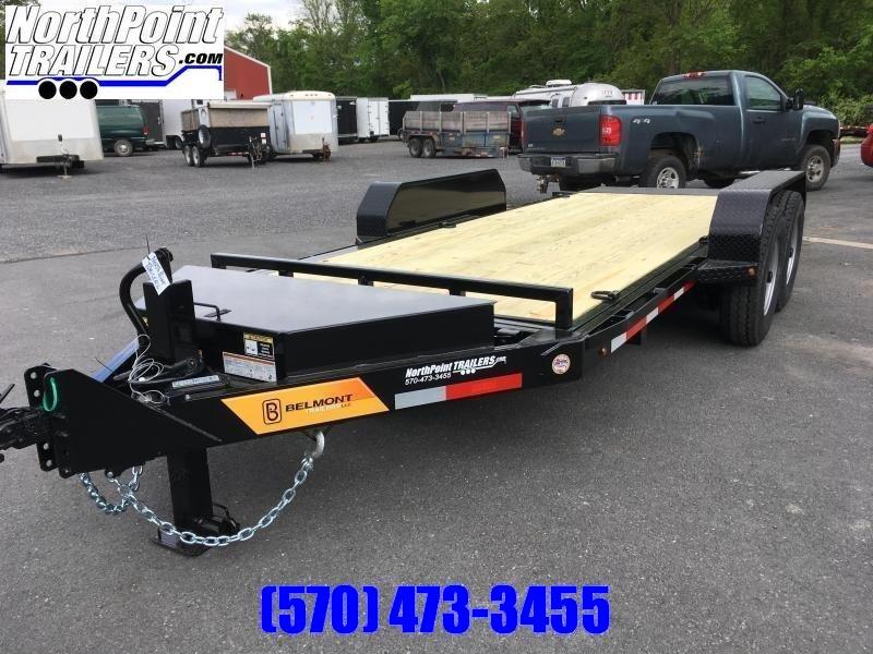 2019 Belmont SSTD18-14K - Tilt Deck - Wheel Upgrade