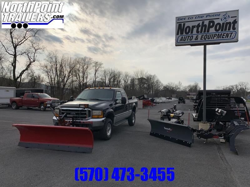 1999 Ford F-250SD - 4WD - 43K Miles - Western Snow Plow
