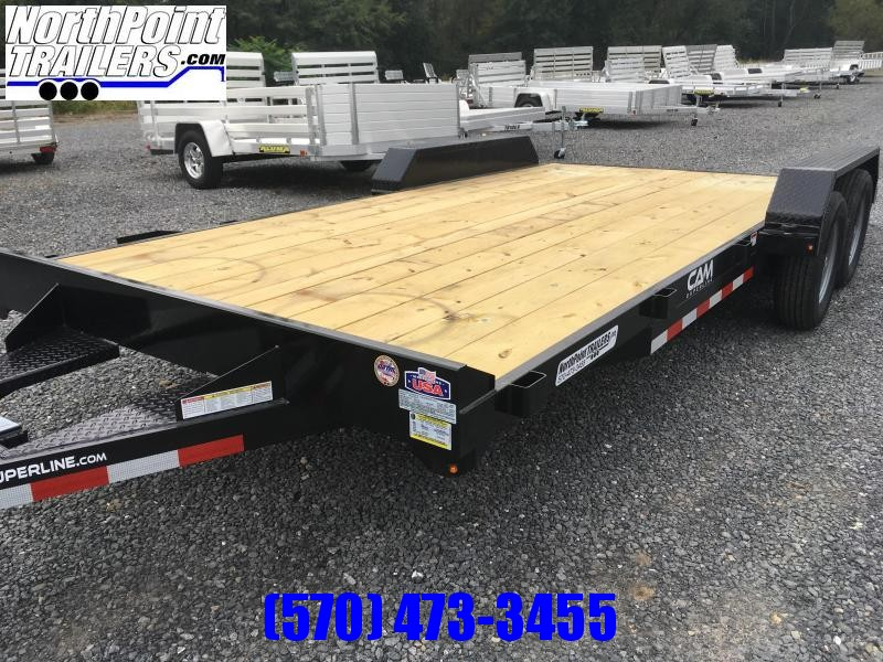 2020 Cam Superline 18' Car Hauler