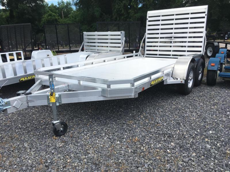 2019 Aluma 7814T - Tandem Axle - FULL TAILGATE
