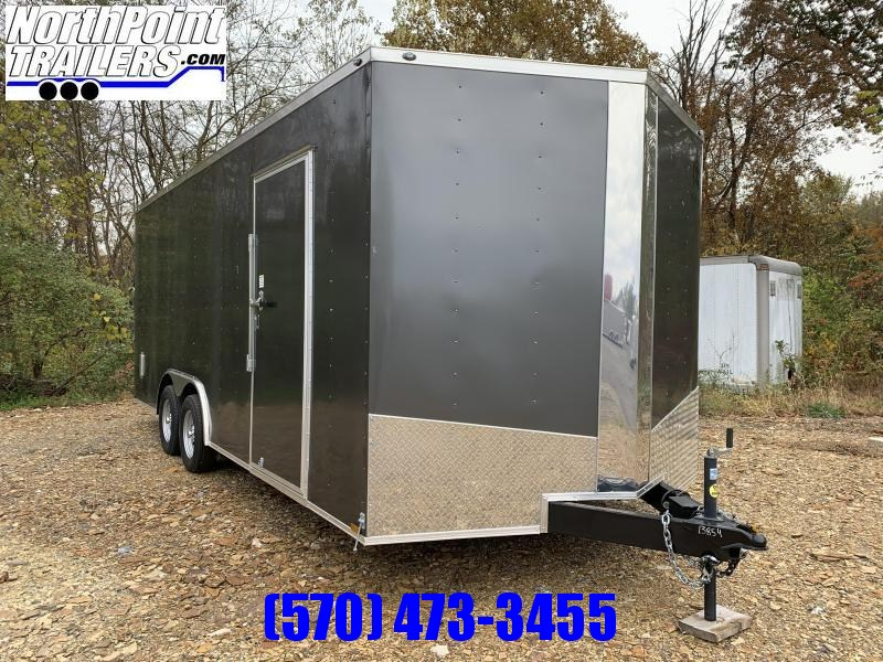 2019 Samson SP8.5x20 Enclosed Trailer - Charcoal Gray