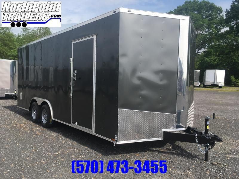 2020 Spartan SP8.5x20 Enclosed Trailer - Charcoal Gray