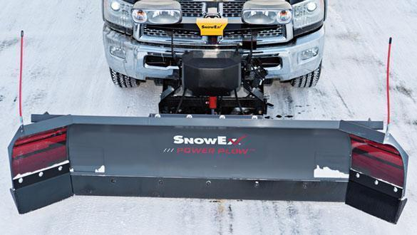 New SnowEx 8100 Power Plow