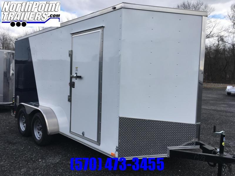 2020 Samson SP714TA Cargo Trailer - Two-Tone - Silver/Indigo Blue