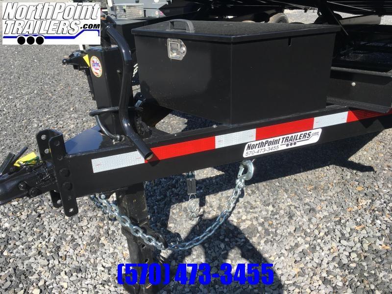 2020 Belmont Machine DT714DO-14K Dump Trailer w/ Fold down Sides - Barn Door Gates