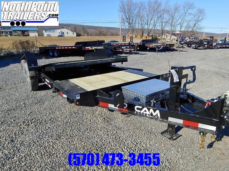 2020 Cam Superline 7CAM16+5STTXW Split Deck Tilt Trailer Extra Wide