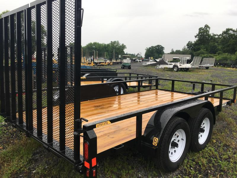 2019 Belmont UT614TA-7K - Charcoal | NorthPoint Trailers ... on trailer generator, trailer mounting brackets, trailer fuses, trailer brakes, trailer hitch harness, trailer plugs,