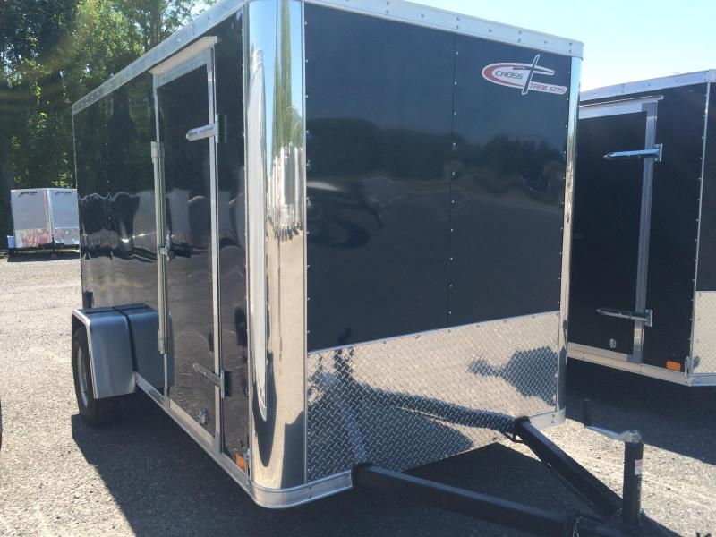2017 Cross Trailers 612SA Enclosed Trailer - INDIGO BLUE