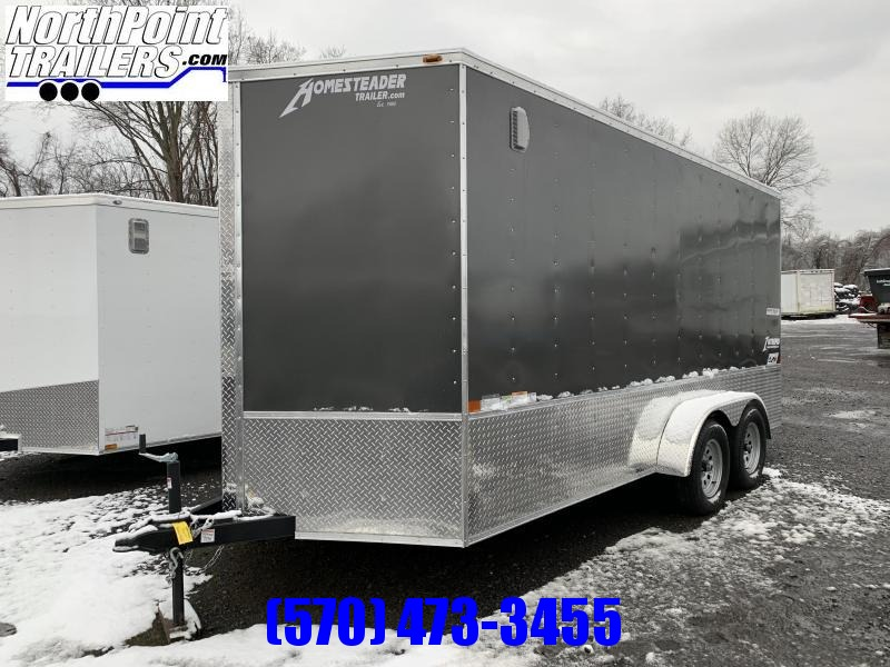 2020 Homesteader 716IT w/ OHV Package - 7' Interior - Charcoal Gray