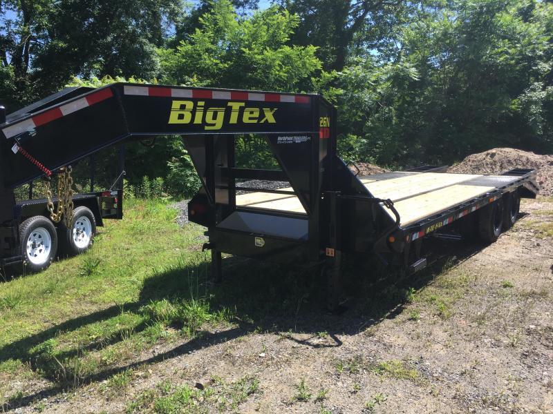 2019 Big Tex 22GN-20BK+5 Gooseneck Equipment Trailer