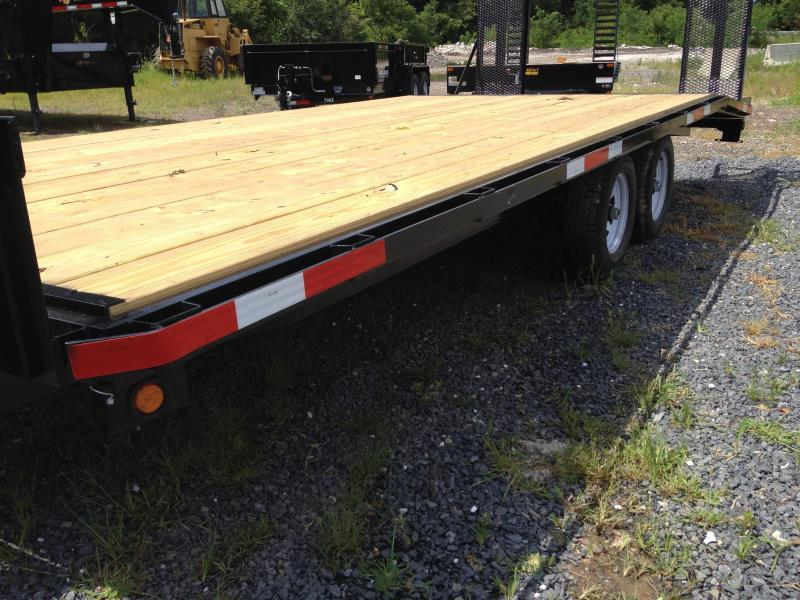 2019 TWF Mfg 20-U Deckover Equipment Trailer