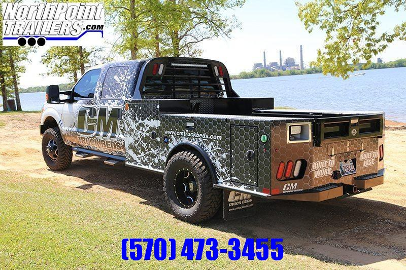 """CM Truck Beds- TM Deluxe - 97 x 8'6"""" - 56"""" C/A - 42"""" Frame Rail"""