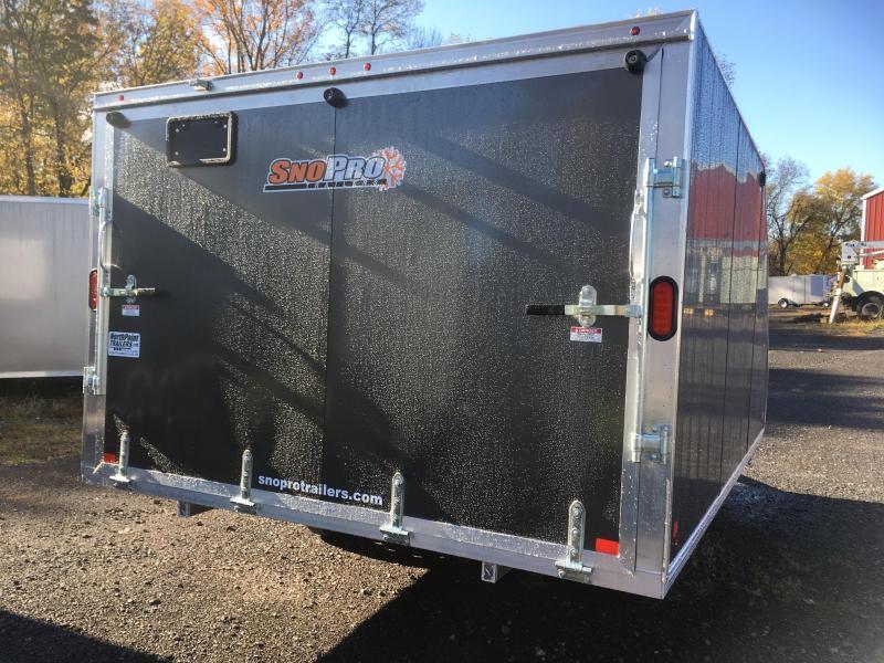 2019 SnoPro/CargoPro Trailers 101x12 Hybrid Snowmobile Trailer