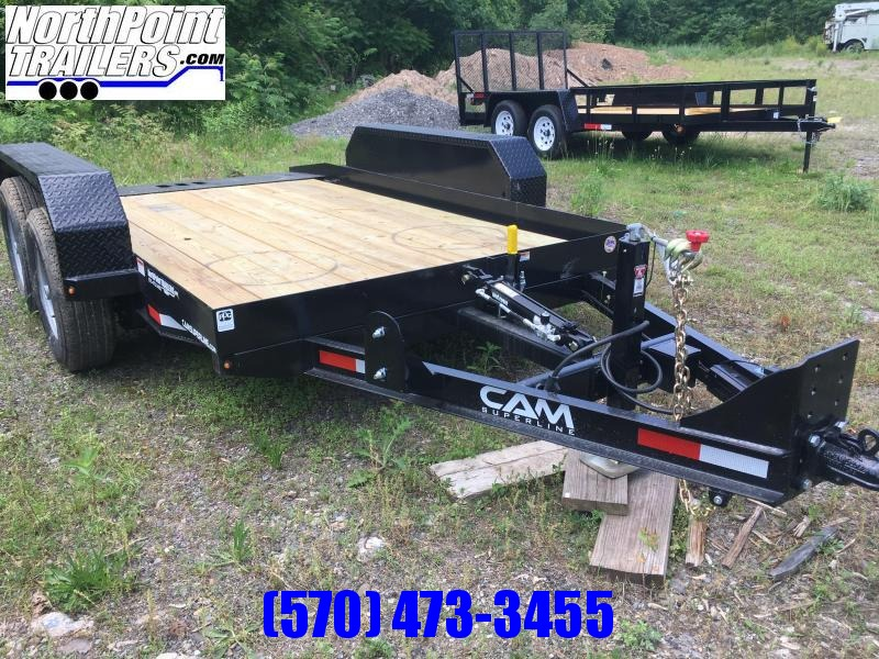 2018 Cam Superline 6x12 Tandem Axle Full Tilt Trailer