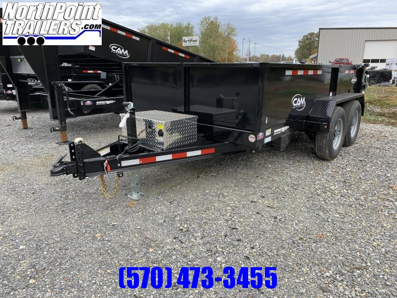 2020 Cam Superline 6x12 Dump Trailer w/ Ramps