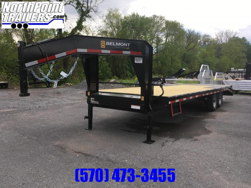 2019 Belmont Machine GN24-14K Gooseneck - Adj. Beavertail w/ Slide-out Ramps