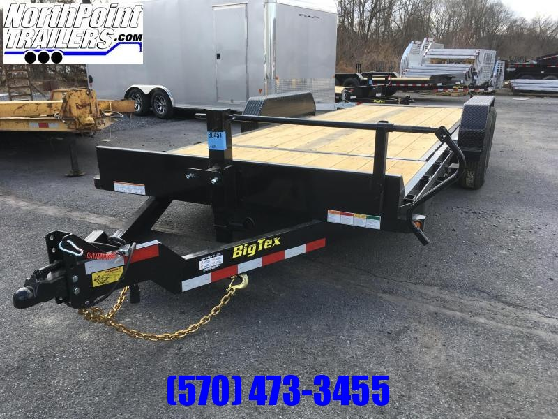 2020 Big Tex Trailers 14TL-20 Tilt Equipment Trailer