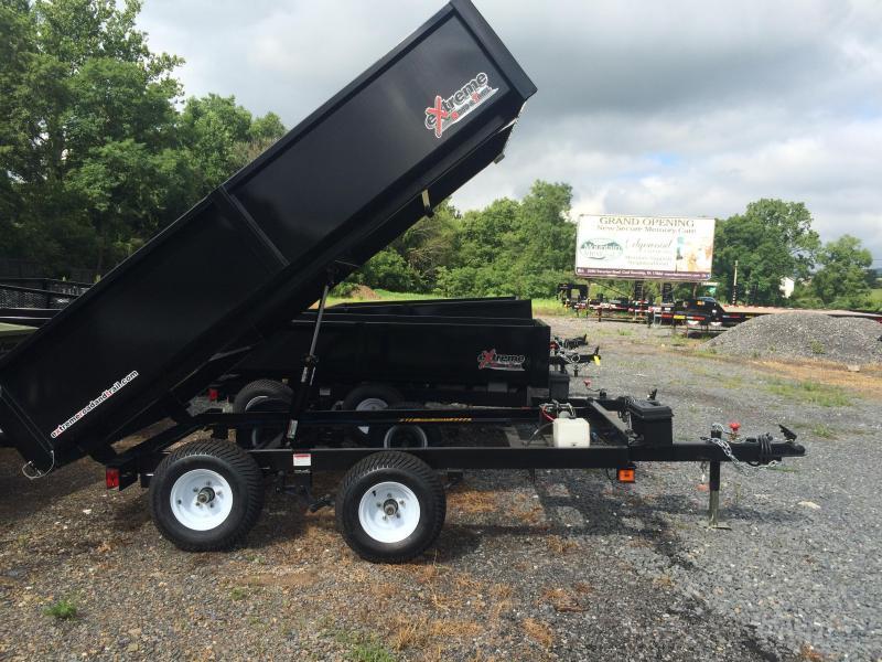 2019 XRT-418 Dump Trailer - One-Piece gate
