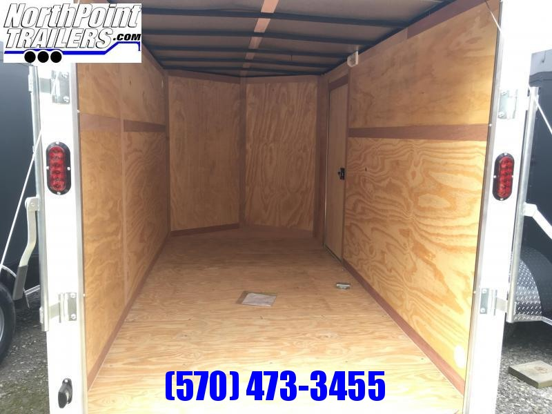 2019 Triple Crown Trailers 6X12SA Enclosed Trailer - Extra Height -  Black
