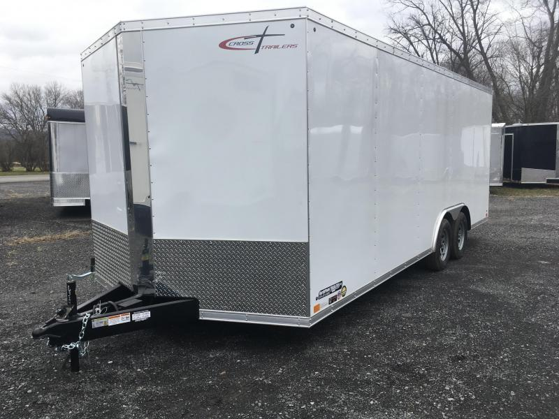 2019 Cross Trailers 820TA - Arrow Nose - White