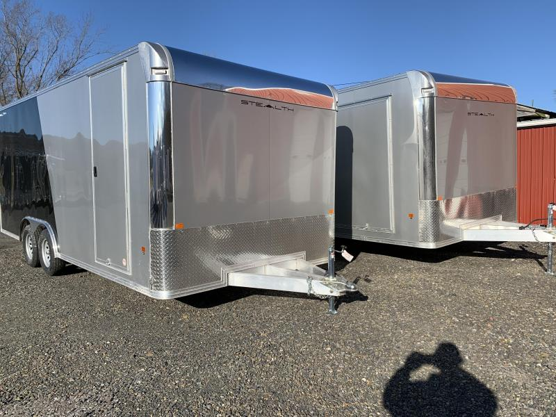 "2020 CargoPro Trailers C8x20SCH Enclosed Car Trailer - Two-Tone - 81"" Door Height"