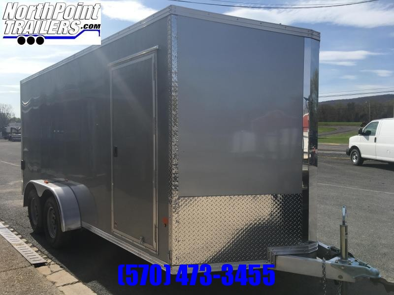 2018 CargoPro Trailers C7x16S-IF Cargo Trailer - Silver