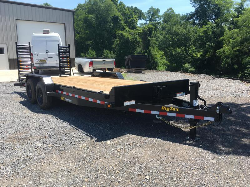 2020 Big Tex Trailers 16ET-17+3 Equipment Trailer - **8K Oil Bath Axles**