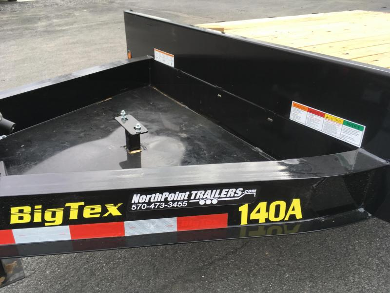 2018 Big Tex Trailers 14OA-17+3 Flatbed Trailer