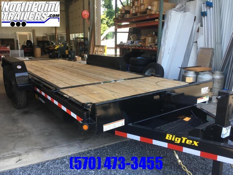 2020 Big Tex Trailers 16TL-20 Tilt Equipment Trailer