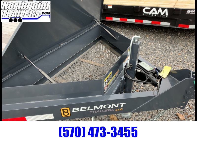 2019 Belmont SSTD18-12 Skidsteer Tilt Deck - Charcoal