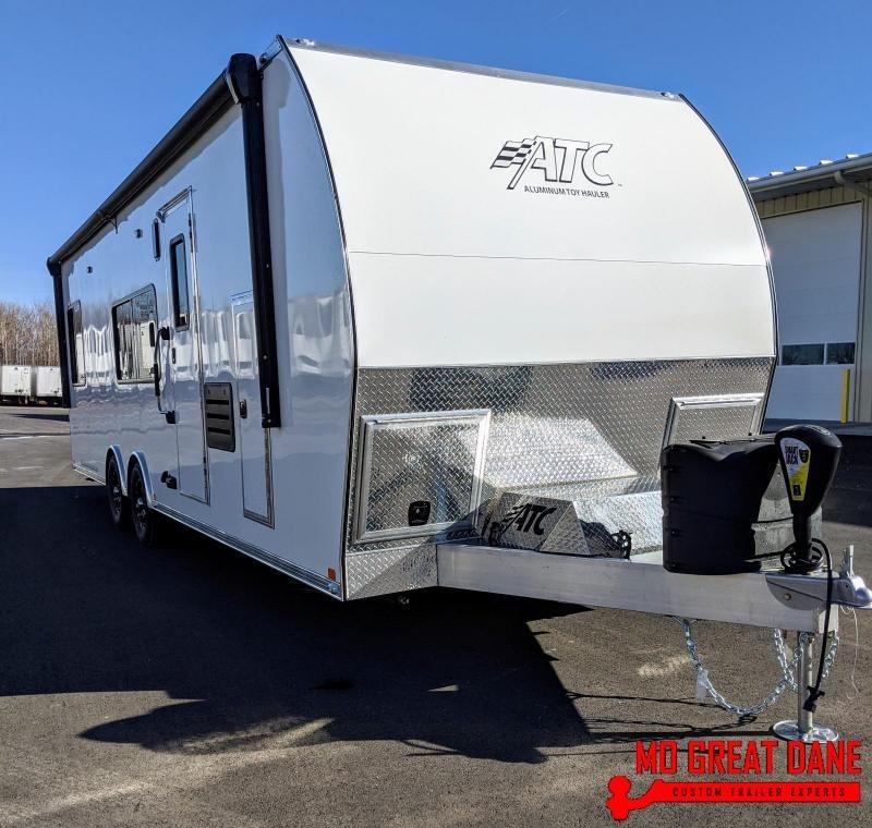 2020 ATC ARV 8.5 x 28 Front Bath Aluminum Toy Hauler RV