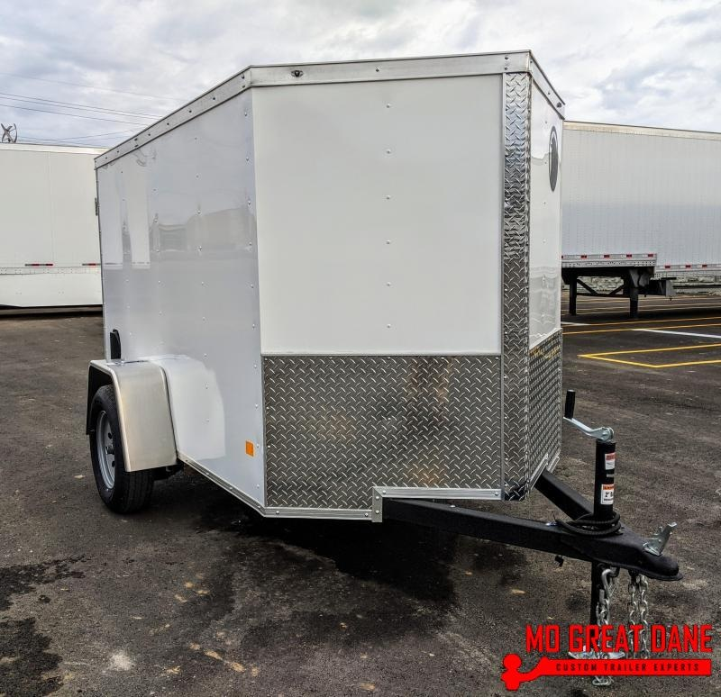 2020 Darkhorse Cargo 5 x 8 V-Nose Enclosed Cargo Trailer