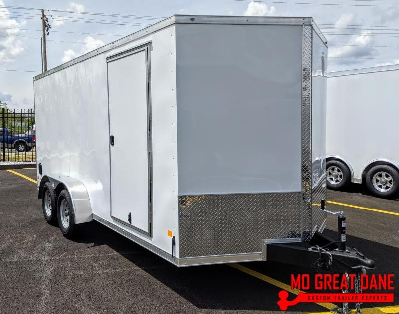 2020 Darkhorse Cargo 7 x 16 V-nose Cargo / Enclosed
