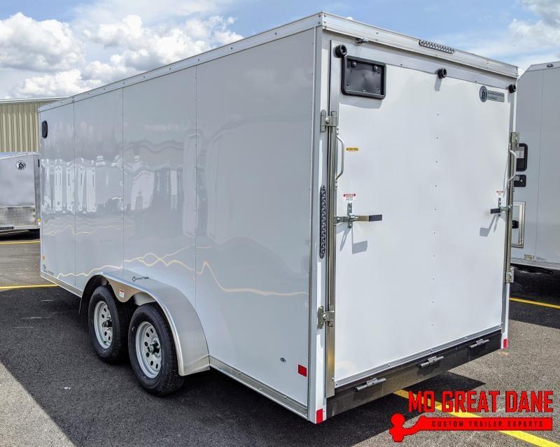 2020 Darkhorse Cargo 7 x 16 V-nose Cargo / Enclosed