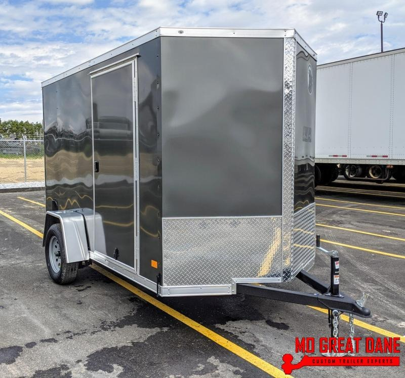 2020 Darkhorse Cargo 6 x 10 V-Nose Enclosed Cargo Trailer