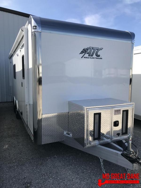 2020 ATC QUEST 8.5 x 24 Command / Response Trailer