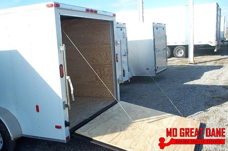 2020 Lark V-Nose 7 x 14 Ramp Enclosed Cargo Trailer