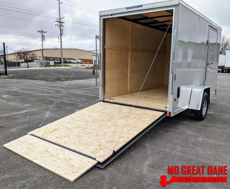 2020 Darkhorse Cargo 6 x 12 V-Nose Enclosed Cargo Trailer