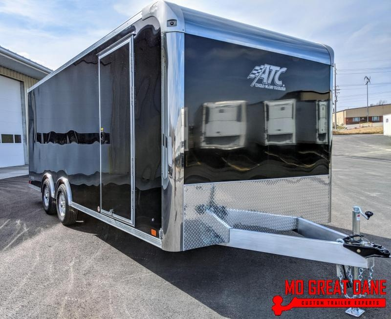 2021 ATC RAVEN 8.5 x 20 Aluminum Enclosed Cargo Trailer