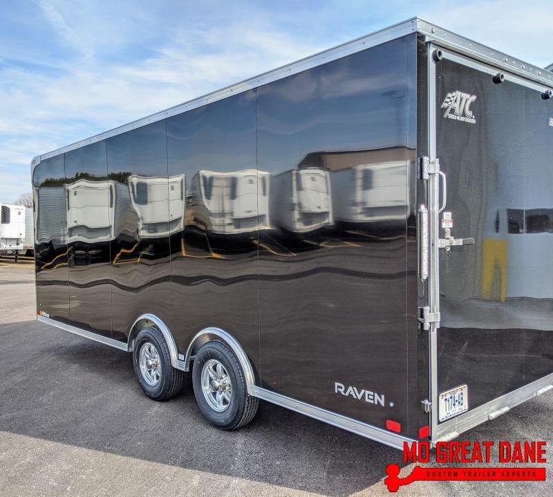 2021 ATC RAVEN 8.5 x 20 Enclosed Cargo Trailer