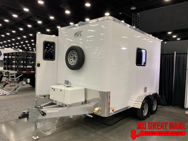 2020 ATC QUEST 7 x 12 Fiber Optic Plus Splicing Trailer