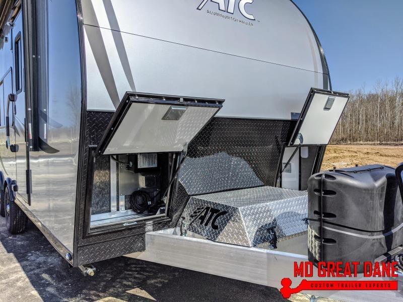 2020 ATC ARV 8.5 x 20 Front Bath Aluminum Toy Hauler RV