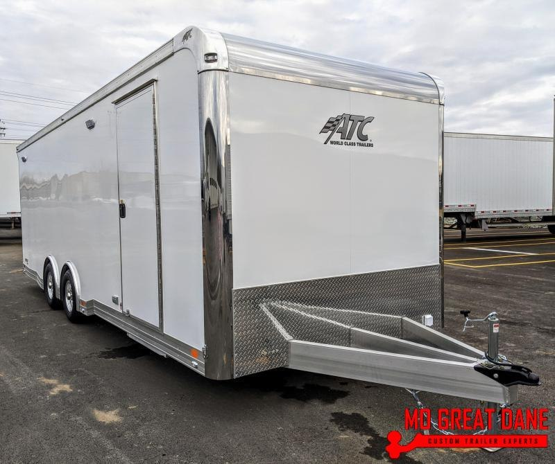 2021 ATC QUEST 8.5 x 24 405CH Car / Racing Trailer