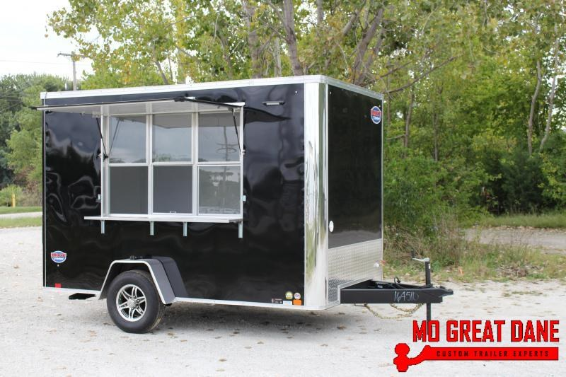 2019 United Trailers 7 x 12 Concession Vending / Concession Trailer