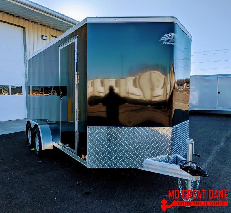 2020 ATC RAVEN 7 x 14 V-nose Enclosed Cargo Trailer