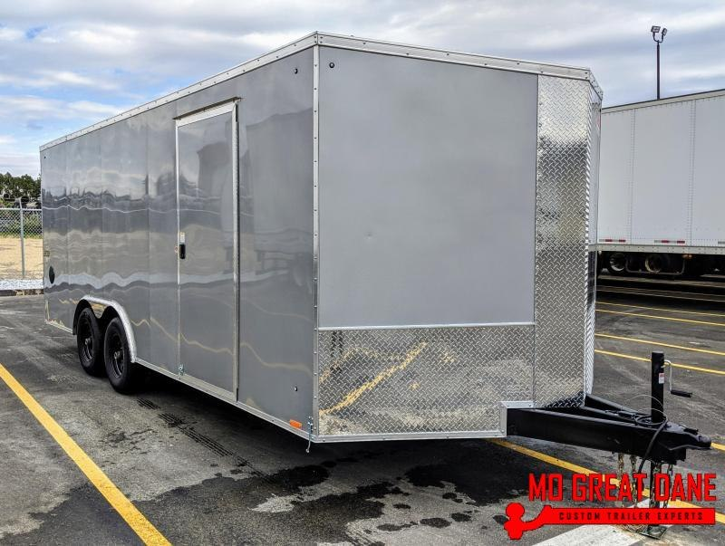 2020 Pace American Journey SE 8.5 x 20 V-Nose Enclosed Cargo Trailer