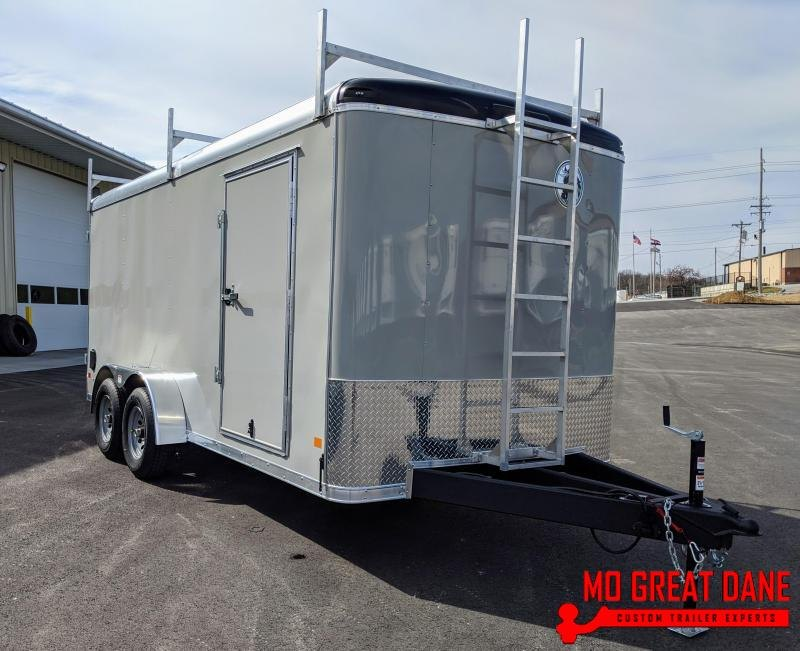 2021 Darkhorse Cargo DHR 7 x 16 Enclosed Cargo Trailer (9990 GVWR)
