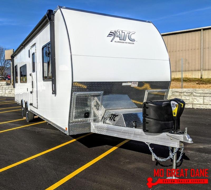 2020 ATC ARV 8.5 x 28 Front Bedroom Aluminum Toy Hauler RV